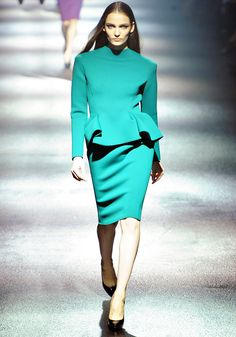 Lanvin Fall/Winter 2012  Your color, your shape, your feel...my heart is aching.  I want you so.