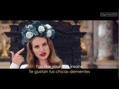 Lana Del Rey - Born To Die (Lyrics - Sub Español) Official Video