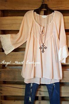 322aa775ca Dress The Part Top - Blush Plus Size Boutique Dresses