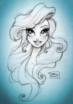 Disney Princess Ariel by *darkodordevic on deviantART