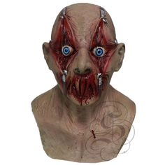 Halloween Latex Scary Tortured Victim Dress Up Costume Party Props Masks