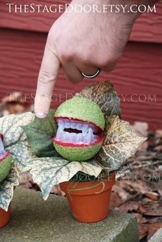 Halloween Decoration Prop Audrey 3 Little Shop of Horrors plant costume DIY Handmade Musical on Etsy, $16.95