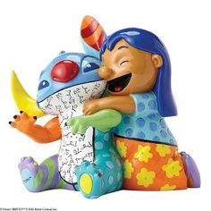 online shopping for Disney Britto Lilo Stitch Stone Resin Figurine from top store. See new offer for Disney Britto Lilo Stitch Stone Resin Figurine Lilo Stitch, Stitch Disney, Enesco Figurines, Disney Figurines, Ohana, Britto Disney, Classic Disney Characters, Pop Art Design, Art Designs