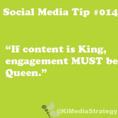 Engagement is Queen #smtip #BeSocial #SWTampa