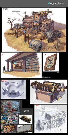 ArtStation - Old concept-weapon_store, Il su Ko