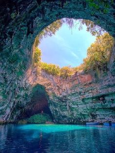 Marvelous Caves that you should Visit !!! -Melissani Cave.