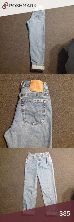 00bf5e11a3a Vintage Levis 512 High Waist Mom Jeans 28