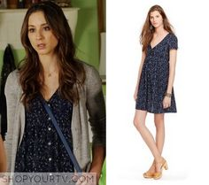 Spencer (s06e07) - Denim and Supply Ralph Lauren Floral-Print Button-Front Dress - $81.70 (macys)
