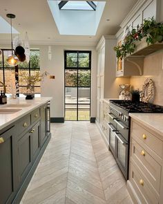 Kitchen Room Design, Home Decor Kitchen, Kitchen Interior, New Kitchen, Home Kitchens, Open Plan Kitchen Dining Living, Living Room Kitchen, Küchen Design, House Design