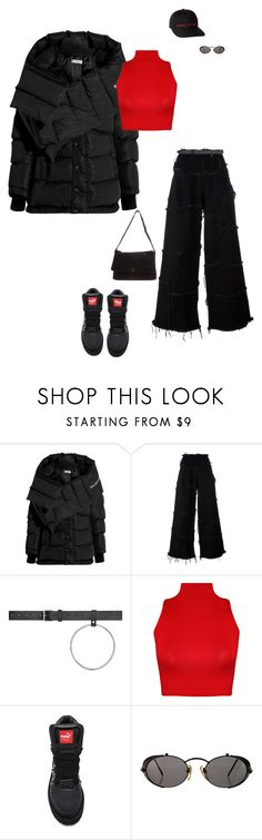 """""""Untitled #483"""" by dastylez ❤ liked on Polyvore featuring Balenciaga, Marques'Almeida, Vetements, WearAll, Puma, Jean-Paul Gaultier and Chanel"""