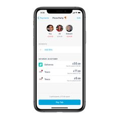 We've created Shared Tabs to make settling up a bunch of bills a whole lot easier. App Design Inspiration, Design Ideas, Mobile Business, Existing Customer, Cookies Policy, Mobile Design, Mobile Ui
