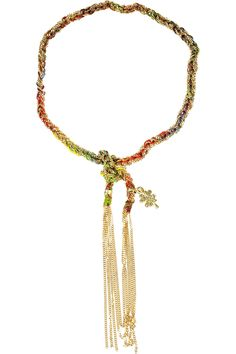 2e4c4dadb89a Carolina Bucci - Lucky 18-karat gold tie bracelet