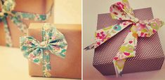 bow gift wrapping