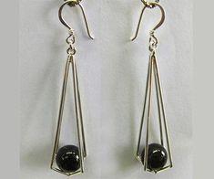 Basket drop pearl earrings tutorial