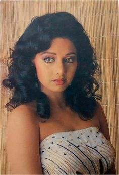 80s Actresses, Indian Actresses, Viria, Bollywood Actress Hot, Bollywood Fashion, Most Beautiful Indian Actress, Beautiful Actresses, Indian People, Vintage Bollywood