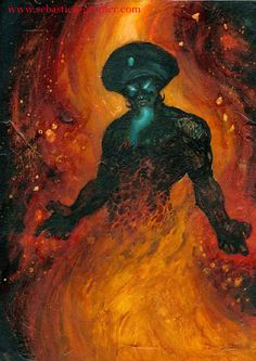 Djinn-The djinn are not confined to the Middle East, or to the past. They exist in their own realm, probably a parallel dimension, and they have the ability – and the desire – to enter our world and interact with us. The djinn have been among us in antiquity and they are among us now.