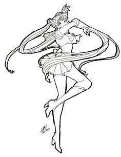 Bishoujo Senshi Sailor Moon by msPHI on DeviantArt