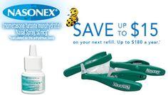 Nasonex Coupon Free Trial Nasonex Coupon Pinterest