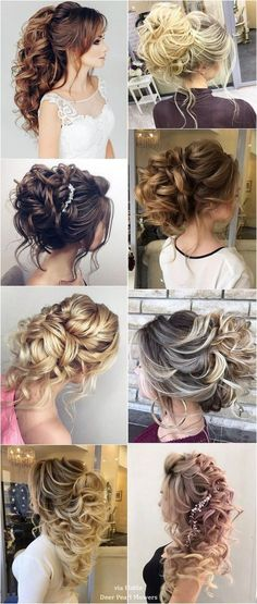 Elstile Long Wedding Hairstyle Inspiration / http://www.deerpearlflowers.com/elstile-long-wedding-hairstyle-inspiration/ #weddinghairstyles