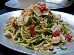 Zuchinni Pesto Pasta