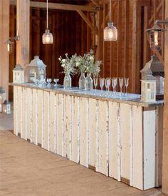 Custom vintage wedding furniture #weddingideas #vintagewedding #barnwedding…