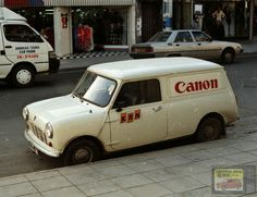 Let's take a Commercial Break as we head in to lunch. This Canon decaled Mini Van should hit the spot!