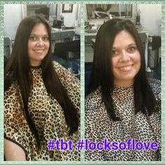 We love donating locks to locks of love! This gorgeous gal had 10 inches of hair cut! By @val4b82 #cabellossalon #cabellostally #tally #tallahassee #salon #spa @behindthechair_com @modernsalon @redken5thave #redken #hairsalon #transformation #locksoflove #donatedhair