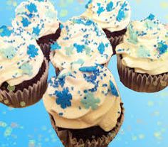 Image result for winter cupcakes