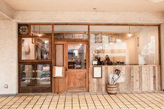 Best Home Decoration Magazine Cafe Exterior, Interior And Exterior, Interior Design, Cafe Restaurant, Restaurant Design, Cafe Concept, Cafe Shop, Cool Cafe, Facade Design