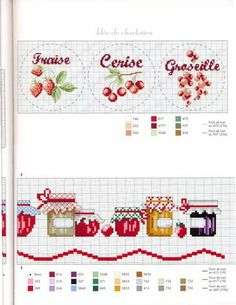 Thrilling Designing Your Own Cross Stitch Embroidery Patterns Ideas. Exhilarating Designing Your Own Cross Stitch Embroidery Patterns Ideas. Cross Stitch Fruit, Cross Stitch Kitchen, Cross Stitch Borders, Cross Stitch Love, Cross Stitch Charts, Cross Stitch Designs, Cross Stitching, Cross Stitch Embroidery, Embroidery Patterns
