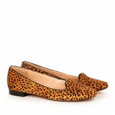Leopard Smoking Loafers
