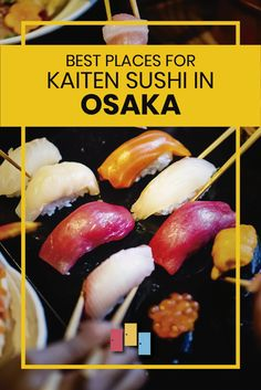 Best Places for Kaiten Sushi in Osaka Kumamoto, Ways To Travel, Travel Tips, Travel Guides, Buy Airline Tickets, Best Places To Camp, Drinking Around The World, Japan Travel Guide, China Travel