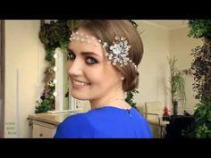 5 красивых причесок на длинные волосы   Идеи причесок с украшениями   Hairstyle Tutorial - YouTube