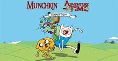 #munchkin hora de aventuras, adventure time. visita nuestro blog, http://boardgamescave.wordpress.com