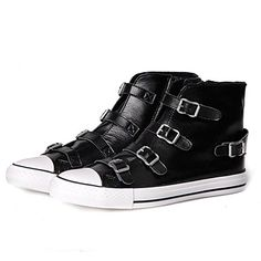 Women's Shoes Round Toe Flat Heel Leather Fashion Sneakers Shoes More Colors available - USD $ 84.99