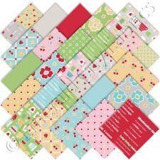 "Riley Blake Bake Sale Charm Pack Stacker 25 5"" Precut Cotton Quilt Squares Kit"