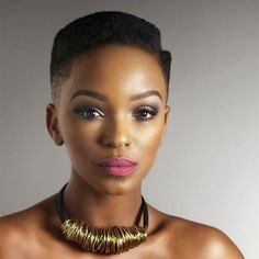 Nandi Mngoma makeup for black women
