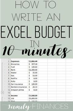 How to set up a budget in excel. Writing an excel budget for beginners. Excel Budget, Budget Spreadsheet, Making A Budget, Create A Budget, Budget Help, Budgeting Finances, Budgeting Tips, Budgeting Worksheets, The Plan