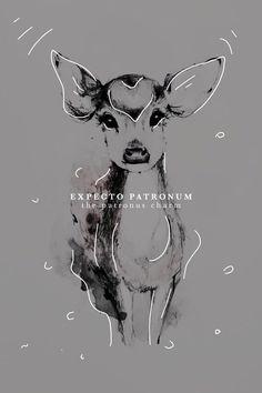 "cassiopeoia: "" Harry Potter + Famous Spells (art),(art),(art) """