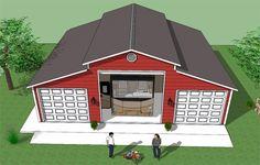 134 Best Rv Garage Plans Images In 2019 Detached Garage
