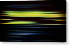 Green Canvas Print featuring the mixed media In Living Color 2 by Marvin Blaine