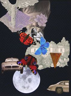 Original People Collage by Mariana Ionita Collage Artwork, Surreal Art, Paper Art, Saatchi Art, The Originals, People, Products, Mariana, Papercraft