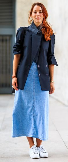 15 Long Tableau Du Jeans Meilleures Longues Jupes Jean Images En rq8ArFRw