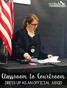 Transform Your Classroom... Classroom to Courtroom! Your students will be excited about finding text evidence as proof!