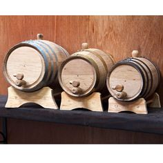 personally owned White Oak Whiskey Barrels Whiskey Glasses, Whiskey Barrels, Whiskey Drinks, Bachelor Pad Decor, Barris, Aged Whiskey, Wooden Plugs, Home Brewing, White Oak