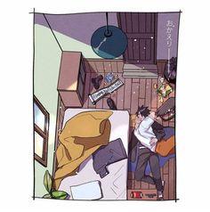 I love houng adult sasunaru :) Naruto Shippuden Sasuke, Naruto Kakashi, Sasunaru, Anime Naruto, Naruto And Sasuke Kiss, Comic Naruto, Shikamaru, Narusasu, Otaku Anime