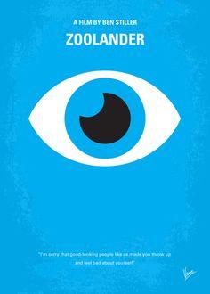Zoolander (2001) ~ Minimal Movie Poster by Chungkong #amusementphile
