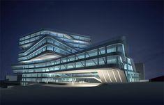 Zaha Hadid Spiral Tower Barcelona 2