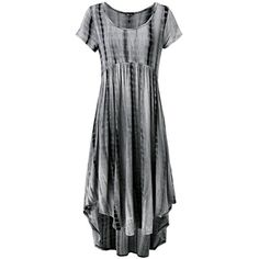 Prime Hot JayJay Women Boho High Low Casual Maxi U-Neck Short Sleeve Tie Dye Print Long Dress With Pocket ** For more information, visit image link. (This is an affiliate link) #Dresses