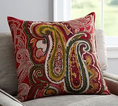 Sullivan+Paisley+Ikat+Pillow+Cover+#potterybarn